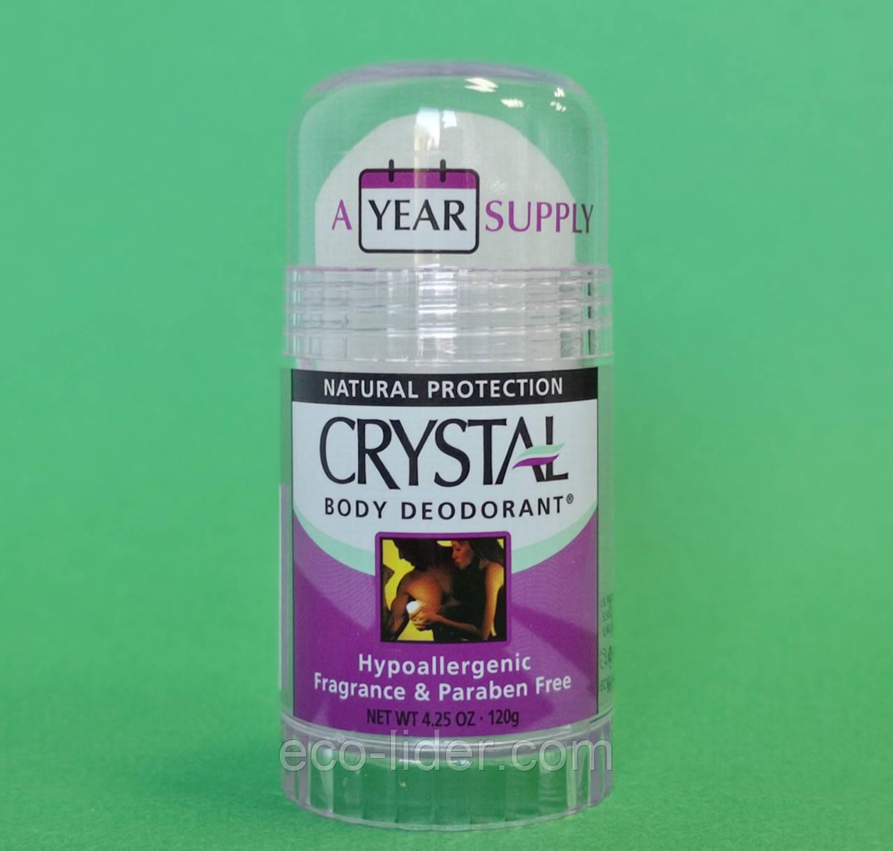 Натуральный дезодорант Кристалл(стик), Crystal 120 г США