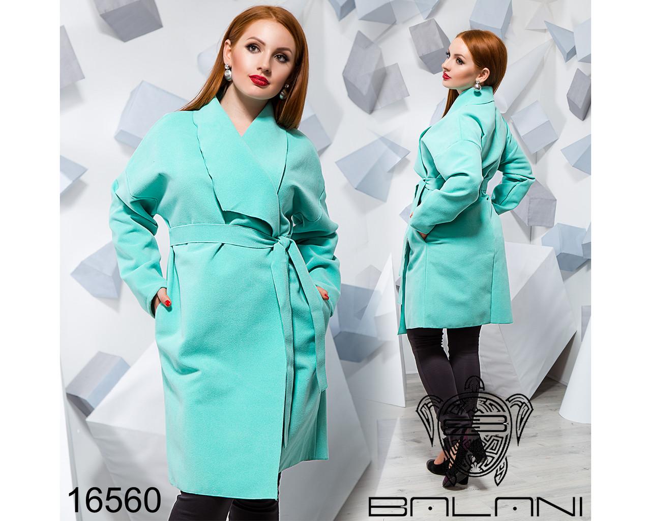 Кашемировое пальто - 16560