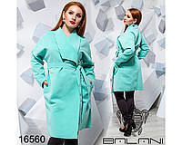 Кашемировое пальто - 16560, фото 1