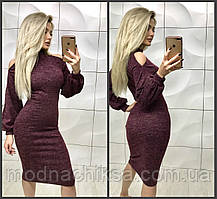 Красивое ангоровое платье 42-44