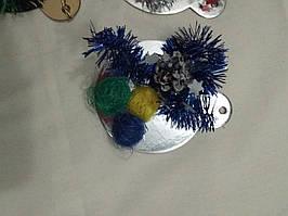 Новогодние шарики на ёлку ручная работа