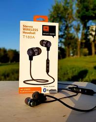 Навушники безпровідні Bluetooth JBL T-180A Hi-Fi Stereo