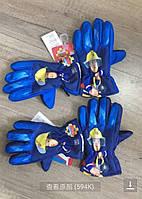 Рукавички лижні для хлопчиків Fireman Sam 3-6 років