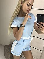 Летний костюм с шортами