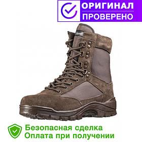 Ботинки Mil-Tec (мил-тек) TACTICAL SIDE ZIP BOOTS BROWN, молния YKK (12822109) 42 -46 размеры
