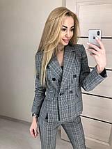 Стильный деловой брючный костюм женский, фото 3