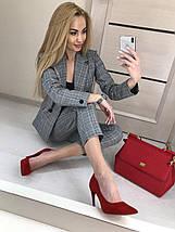 Стильный деловой брючный костюм женский, фото 2
