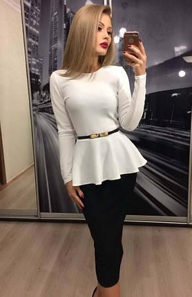 b4cebdcd855 Женский костюм юбка и блузка  Цена