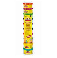 Набор пластилина для праздника из 10 мини-баночек в тубусе Play-Doh Play Doh