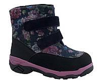 Ботинки Minimen 3VALEVKI р. 35, 36 Розовый с черным