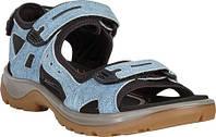 Женские сандали ECCO Offroad Active Sandal Indigo 5 Camel Nubuck (36 размер) 78b8e2d014279