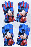 Перчатки лыжные для мальчиков Mickey 3-6 лет