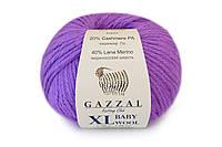 Gazzal Baby Wool XL, фуксия №815