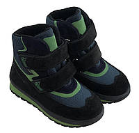 Ботинки Minimen 21SALAT р. 21 Синий с черным