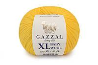 Gazzal Baby Wool XL, желтый №812