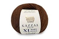 Gazzal Baby Wool XL, каштановый №807