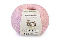 Gazzal Baby Wool XL, нежно-розовый №836