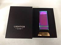 Электроимпульсная  зажигалка LIGHTER, USB-612