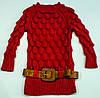 Вязаный свитерок для девочки на 7-9 лет