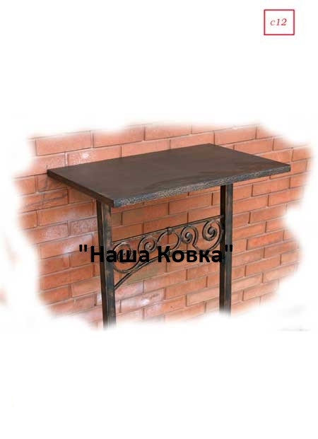 Кованый каркас для стола