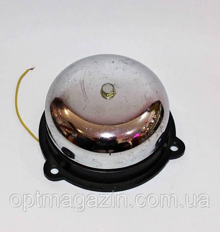Звонок электрический 100мм проводной, фото 2