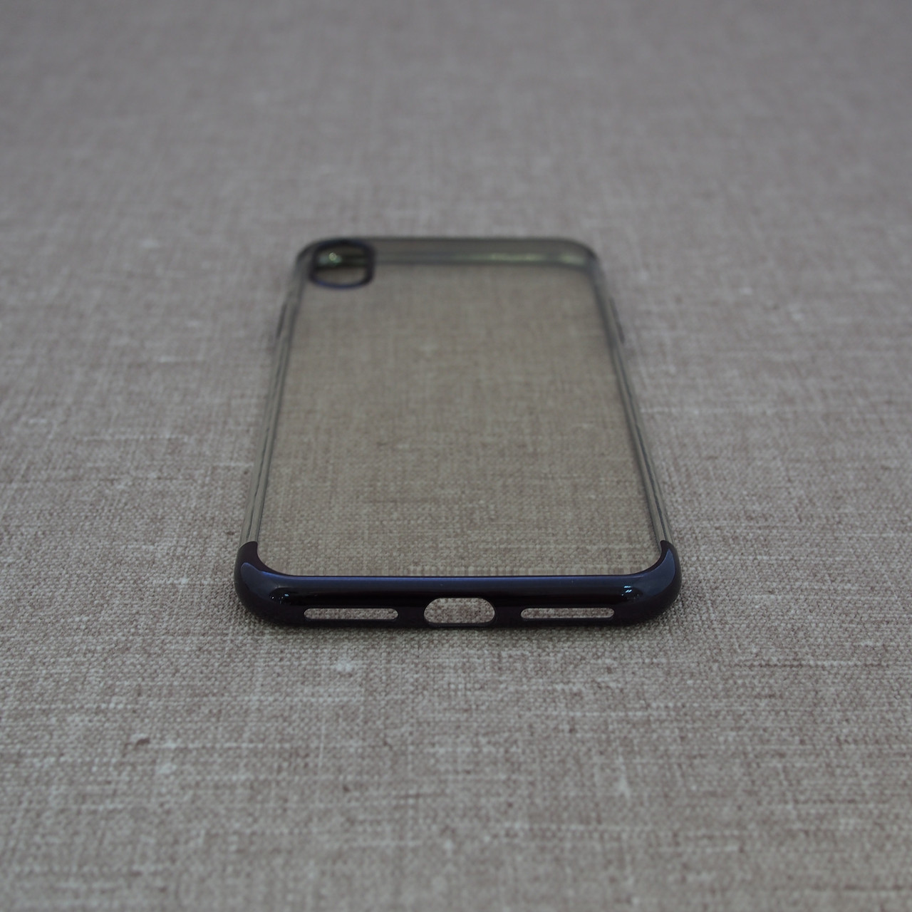 OUcase Electroplating TPU iPhone Xs Max black Для телефона Чехол