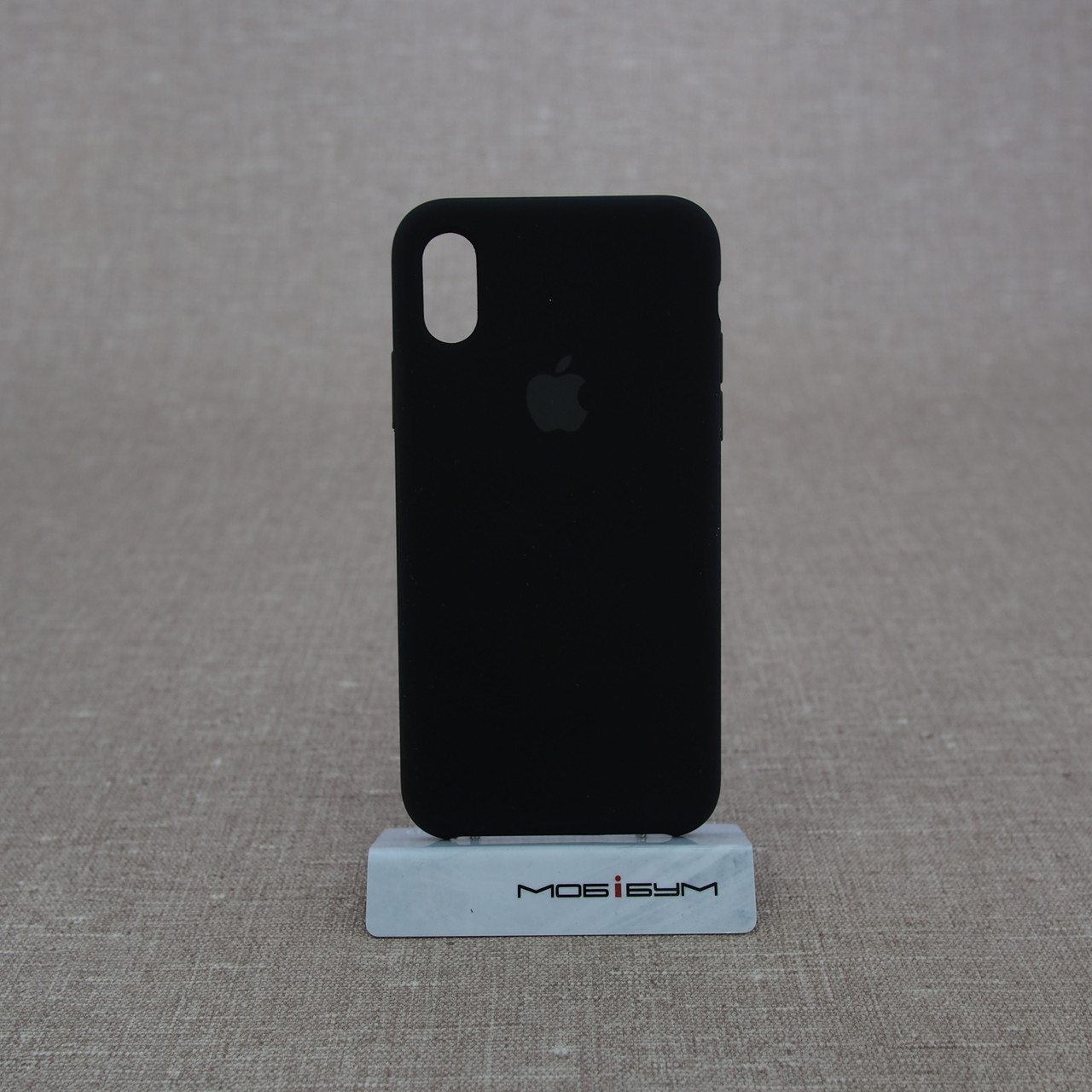 Накладка Apple iPhone XS black