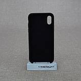 Накладка Apple iPhone XS black, фото 2