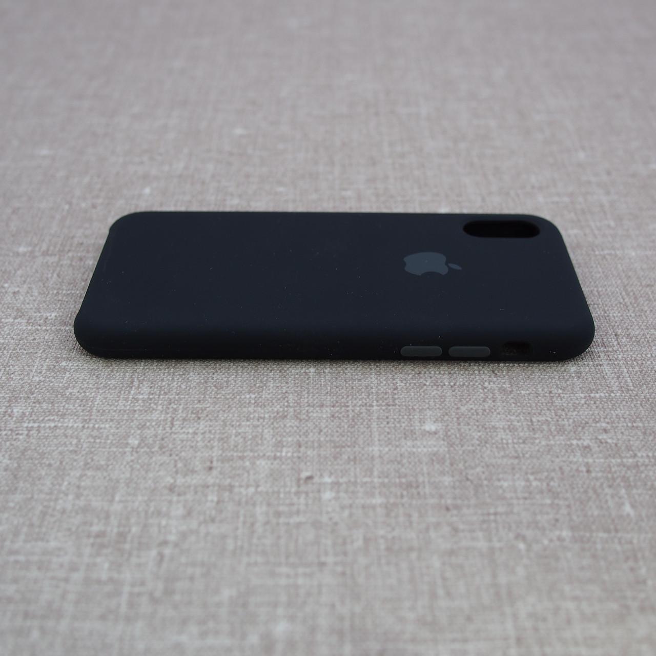 Apple iPhone XS black Для телефона Чехол