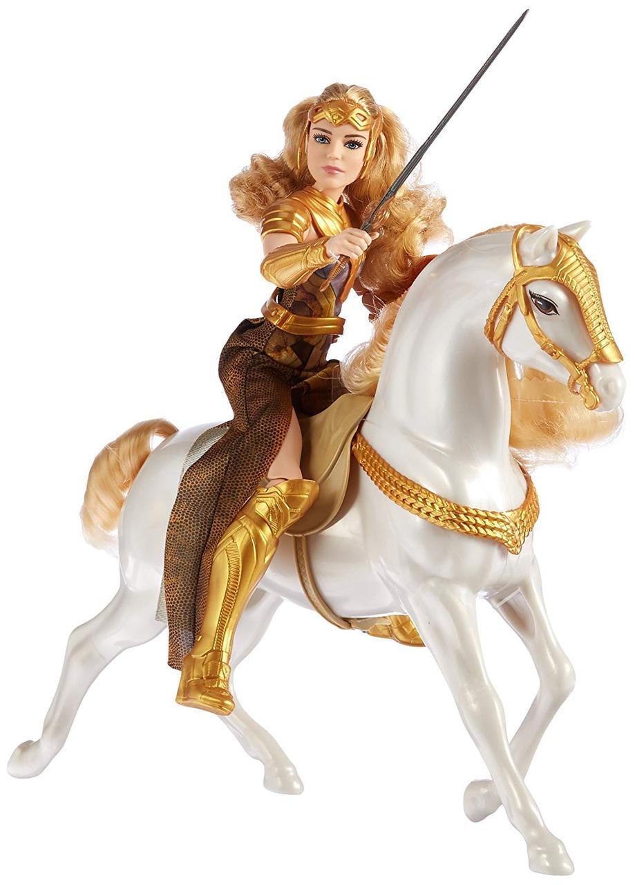 КуклаBarbieЧудо женщина Королева Ипполита и лошадьDC Wonder Woman Queen Hippolyta Doll & Horse
