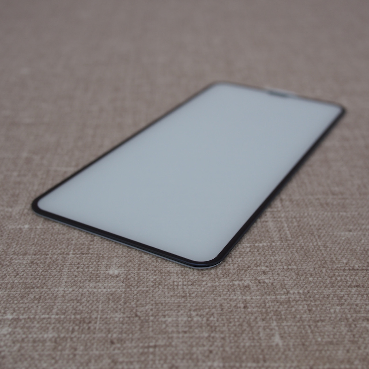 iPhone XS Max 3D black Для телефона Защитное стекло