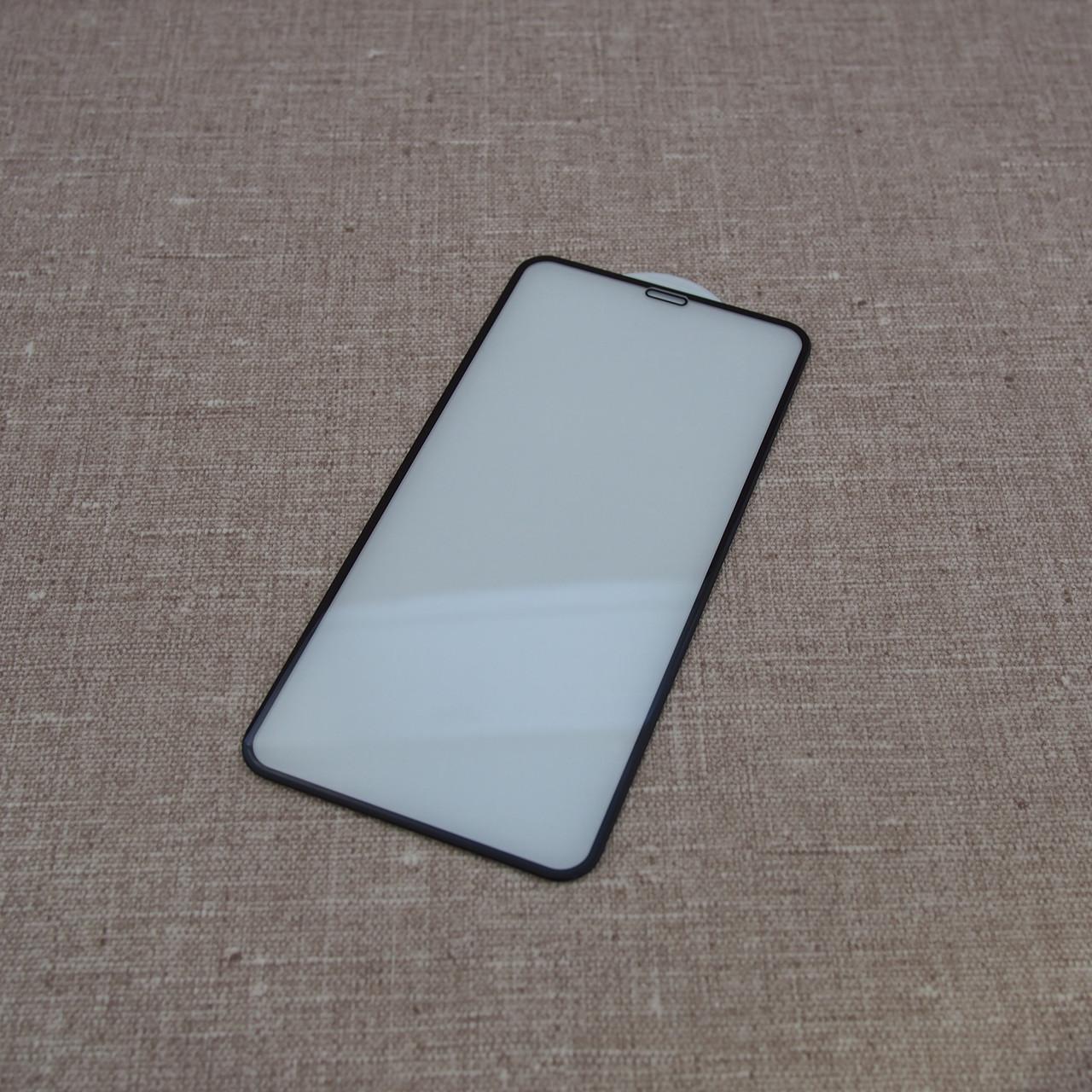 Защитное стекло iPhone XS Max 3D black