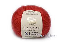 Gazzal Baby Wool XL, красный №811