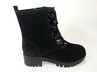 Зимние женские замшевые ботинки ТМ Lonza, фото 1