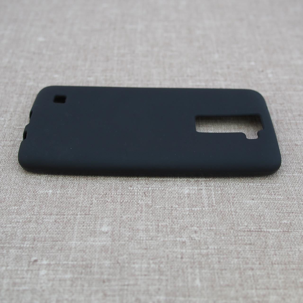 Чехлы для LG TPU K8 K350 black Для телефона