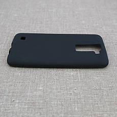 Чехол TPU LG K8/K350 black, фото 3