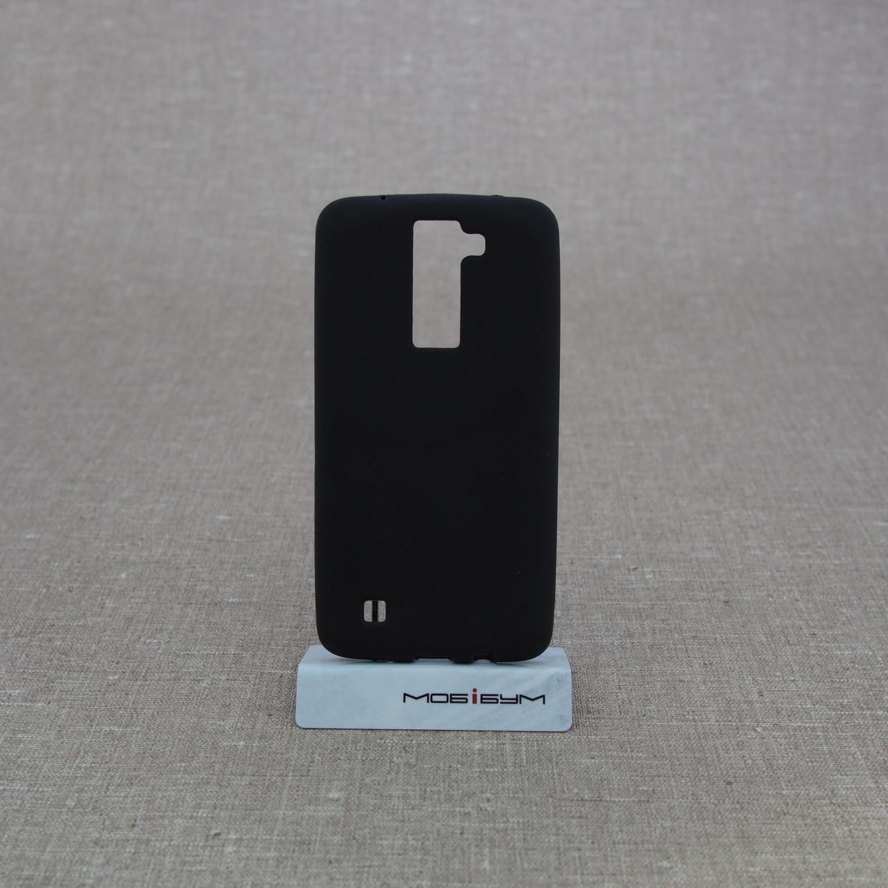 Чехол TPU LG K8/K350 black