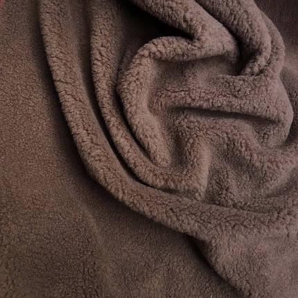 Искусственный мех овчина коричневая, фото 2