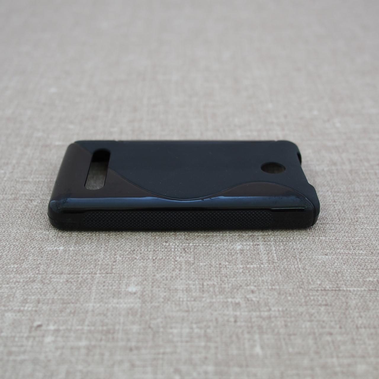 TPU Duotone Nokia 210 black Для телефона