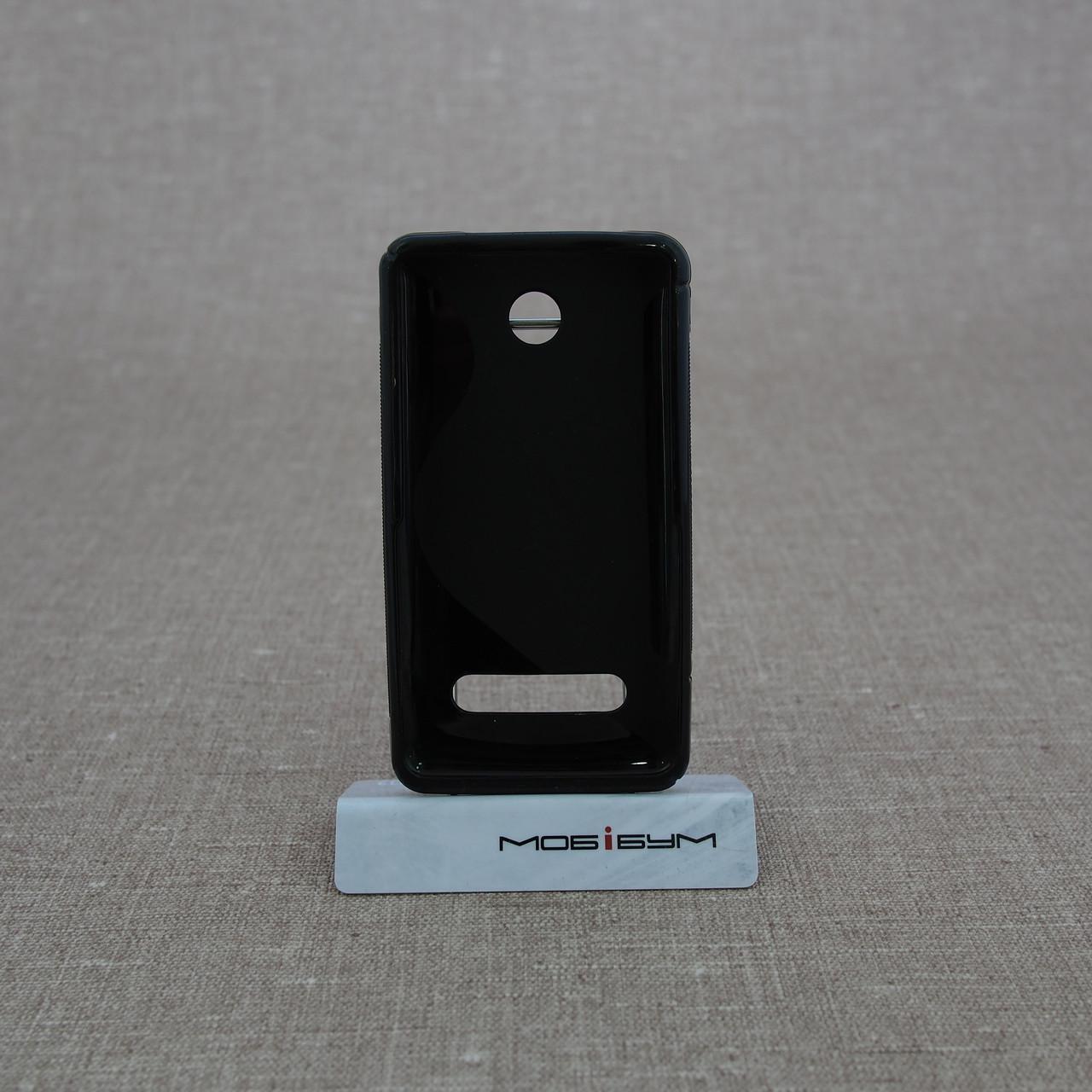 Чехлы для Nokia TPU Duotone 210 black Для телефона