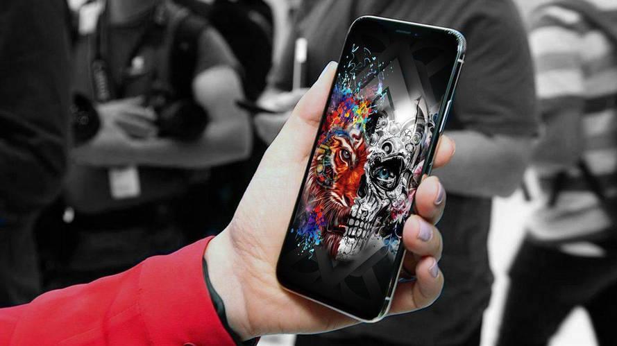iPhone 8 или X не включается или зависает на яблоке. Что делать?