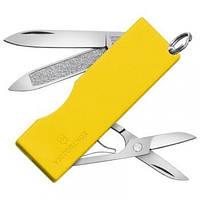 Нож Складной Мультитул Викторинокс Victorinox TOMO (58мм, 5 функций), желтый 0.6201.А2, фото 1