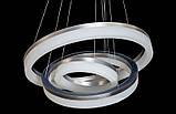 Подвесные тройные кольца  с диммером 8123/600+450+300 GR , фото 5