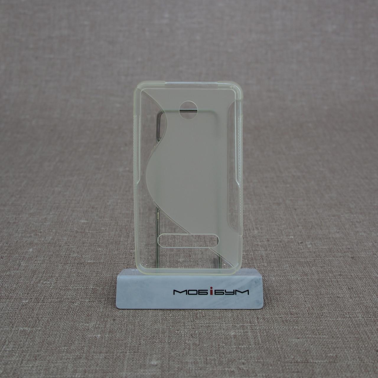 TPU Duotone Nokia 210 soft-clear Для телефона