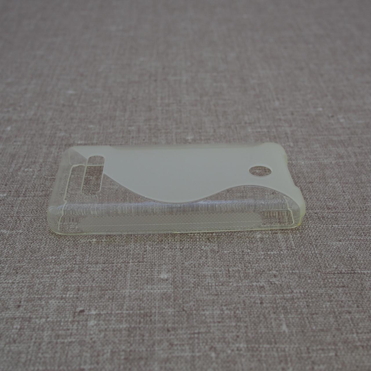 Чехол TPU Duotone Nokia 210 soft-clear Для телефона