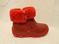 Зимние ботиночки детские для девочки ТМ Tom.m