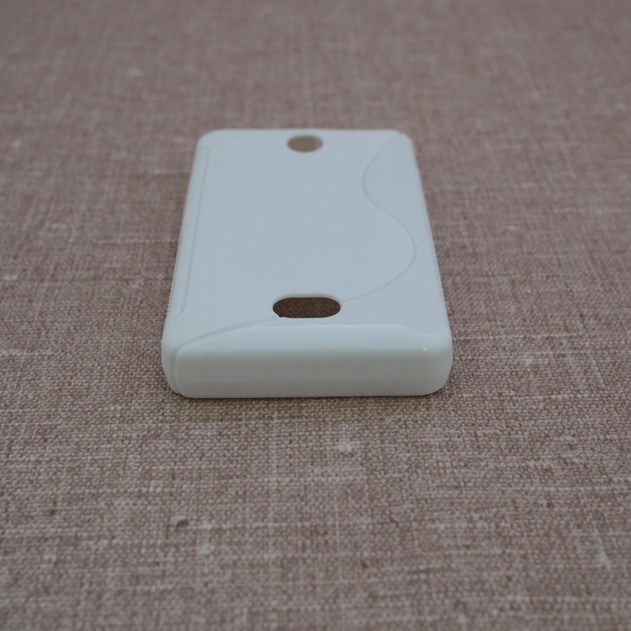TPU Duotone Nokia 501 white Для телефона