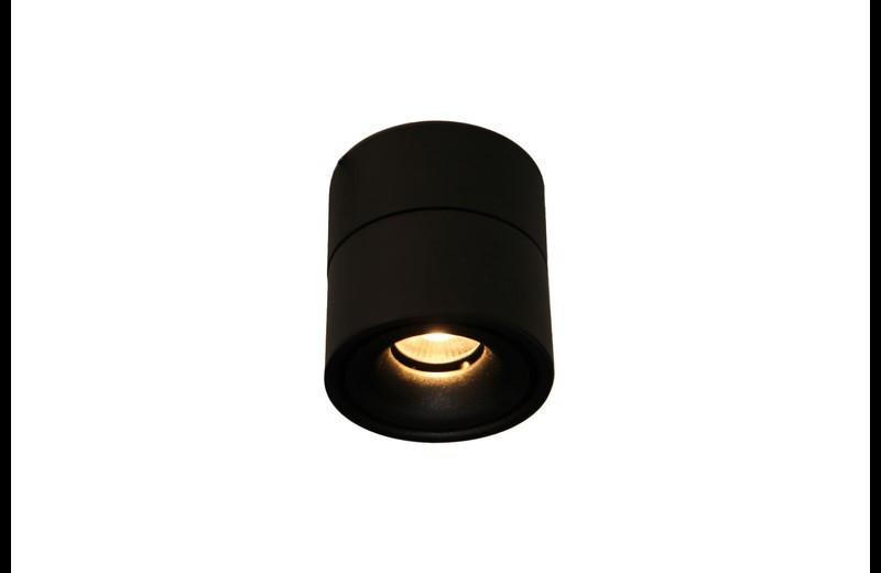 Накладной точечный светодиодный светильник 149A-12Watt BK