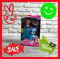 Набор My Little Horse голубой Пони (с куклой и лошадкой) с аксессуарами