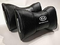Подушка на подголовник Киа SPORTAGE черная